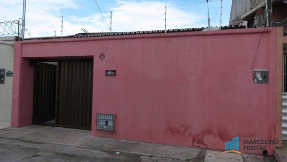 Casa Residencial Para Locação, Álvaro Weyne, Fortaleza. - Codigo: Ca1544 - Ca1544