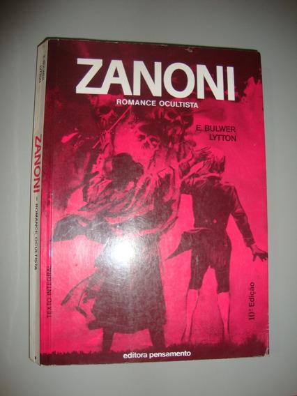 Livro - Zanoni - Romance Ocultista