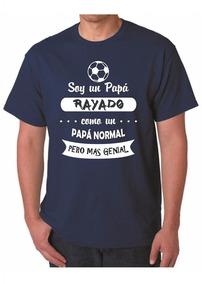Camiseta Día Del Padre / Papá Rayados