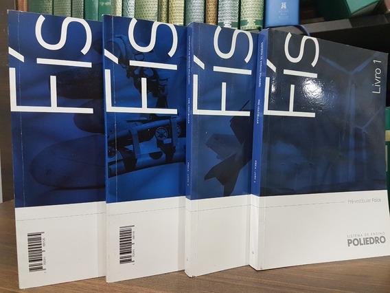 Livros Poliedro Física 4 Volumes - Enem Medicina Ime Ita