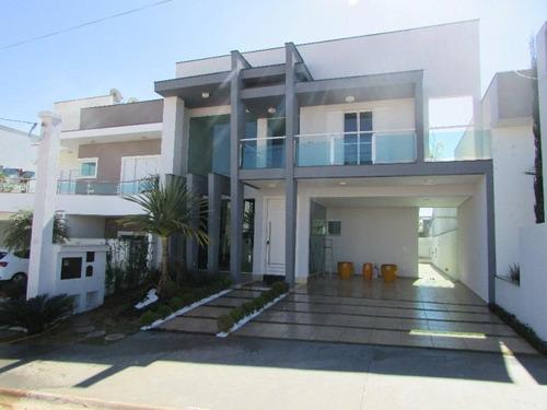 Sobrado Com 3 Dormitórios À Venda, 230 M² Por R$ 930.000 - Condomínio Villagio Milano - Sorocaba/sp. - So0039 - 67640488