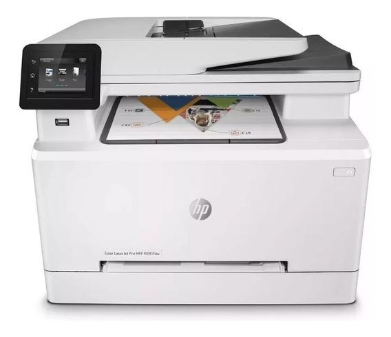 Impressora Multifuncional Hp M281fdw Colorida - Semi Nova