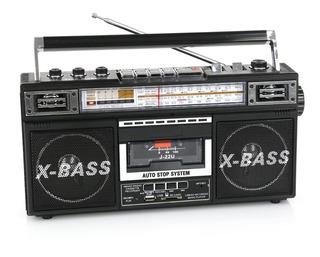 Radio Y Grabadora Con Conversión De Cassette A Mp3