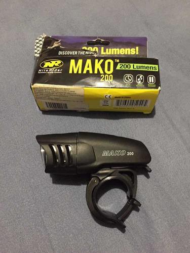 Lámpara Niterider Mako 200 Lumens Bicicleta Ciclismo