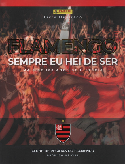 Álbum Capa Dura Figurinhas Flamengo - Completo - Para Colar