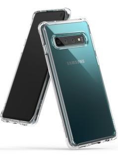 Funda S10 S10 Plus S10e Ringke Fusion Samsung Galaxy Anti Impacto