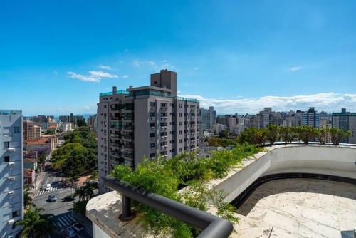 Imagem 1 de 30 de Cobertura Duplex Com 4 Suítes No Centro De Florianópolis - Co0458