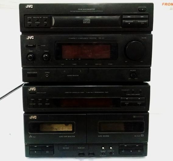 Radio Jvc Ca-mx44bk Stereo Receiver P/ Desmanche Reparo