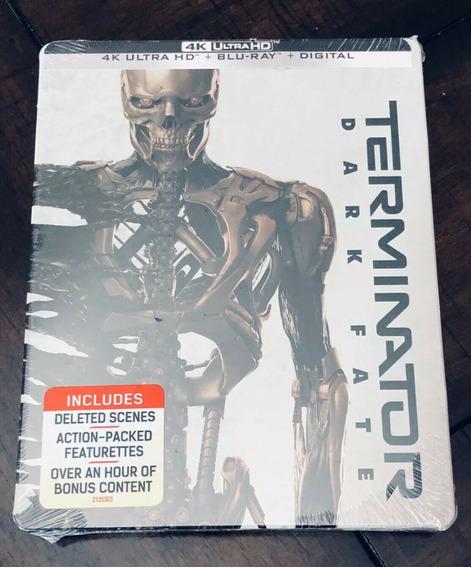 Terminator Dark Fate 4k Uhd Steelbook Nueva Sellada
