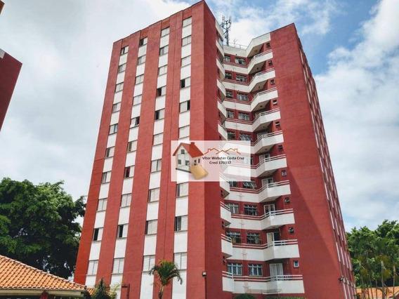 Apartamento Com 2 Dormitórios À Venda, 62 M² Por R$ 298.000,00 - Jabaquara - São Paulo/sp - Ap0568
