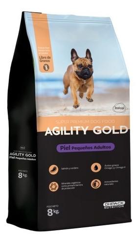 Agility Gold Pequeños Adultos Piel 8 Kg