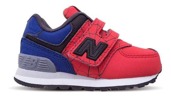 Zapatillas Bebe New Balance 574 Avengers Spiderman Infant