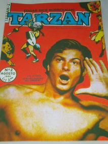 Tarzan Nº 2 De 1951 Ebal Lex Barker Na Capa Veja Descrição
