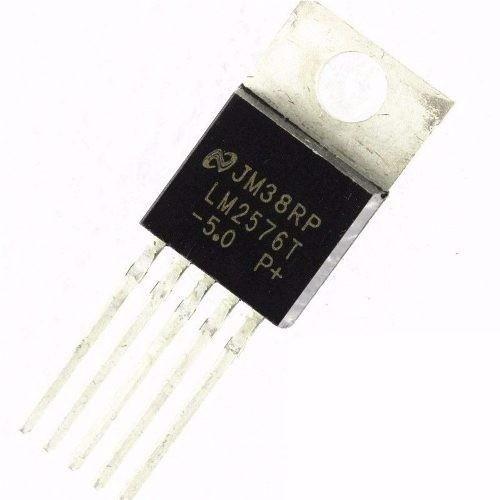 Regulador De Tensão Lm2576t -5.0 - Kit 10 Und