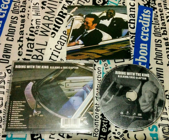 B B King & Eric Clapton : Riding With The King - Original