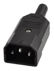 Kit C/5 Plugues Conector Iec 320 C14 Wd-10 Macho