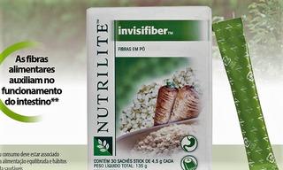01 Fibra Em Pó 100% Natural - Nutrilite - 30 Sachês 4,5gr.