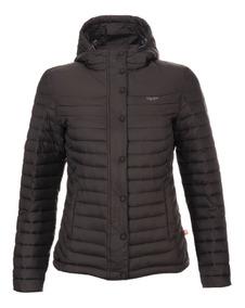 Chaqueta Mujer Bewarm Steam-pro Hoody Jacket Negro Lippi