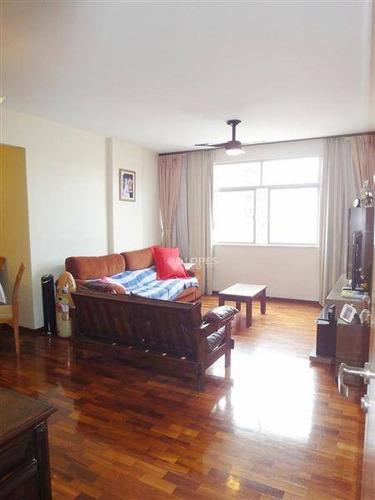 Apartamento Com 3 Dormitórios À Venda Por R$ 740.000 - Icaraí - Niterói/rj - Ap31389