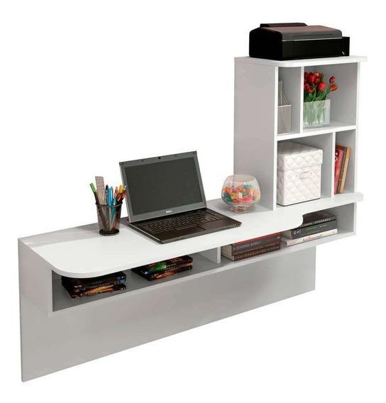 Escrivaninha Suspensa Lilac Branca