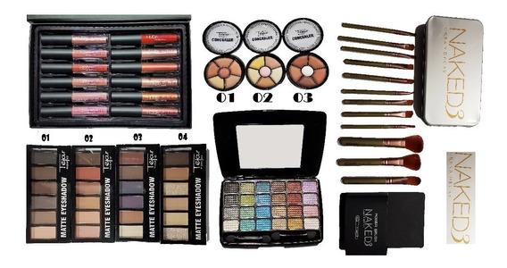 Combo De Maquillajes Completo (combo 09)