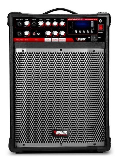 Caixa Multiuso 8 Polegadas 80w Rms Novik Neo Big Band 8 Bt