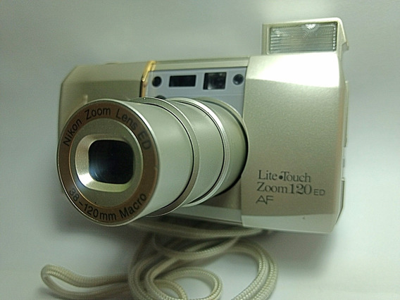 Câmeras Nikon Lite touch Zoom 120 Ed Af