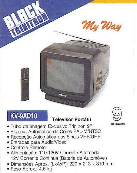 Sony Kv-9ad10 ( Nova Lacrada )