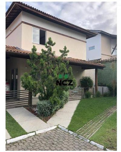 Casa Com 4 Dormitórios À Venda, 113 M² Por R$ 550.000,00 - Abrantes - Camaçari/ba - Ca3263