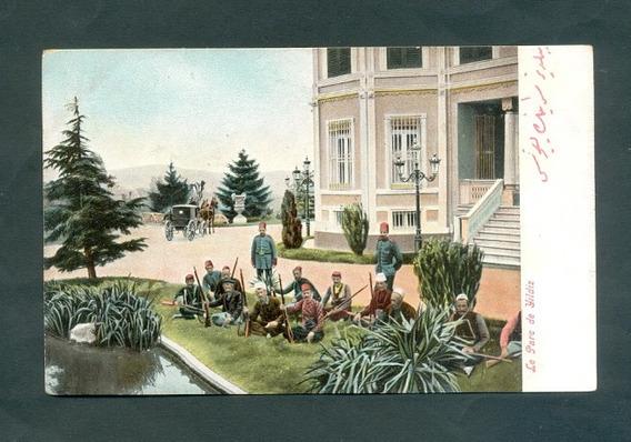 Turquia . Antigua Tarjeta Postal . Le Parc De Yildiz .