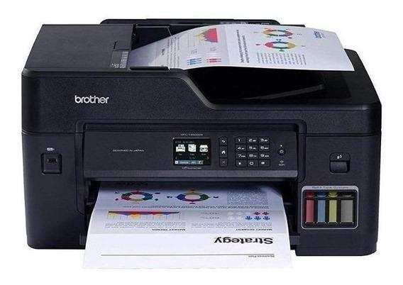 Impressora a cor multifuncional Brother MFC-T4 Series MFC-T4500DW com Wi-Fi 110V preta