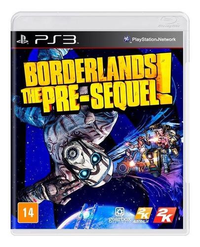 Borderlands The Presequel Ps3 Mídia Física Novo Lacrado