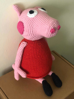 Amigurumi pattern plush Peppa Pig crochet. Pattern french | Etsy | 320x240