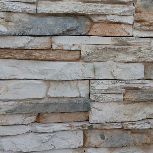 Revestimiento Simil Piedra Ecostone Andes Mediterranea Claro