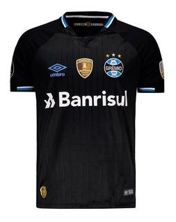 Camisa Umbro Grêmio Iii 2018 Libertadores