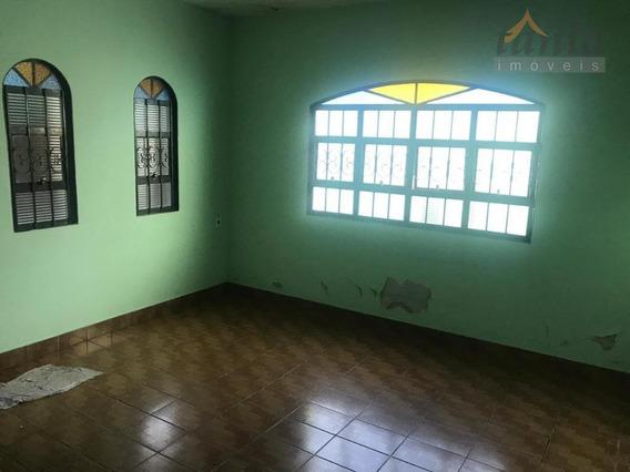 Casa Com 2 Dormitórios Para Alugar, 120 M² - Jardim Aeroporto I - Itu/sp - Ca0335
