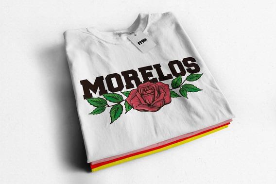 Playera De Moda Niña Y Dama Morelos Lover