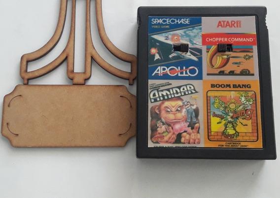 Chopper Command/ Boom Bang/ Amidar/ Space Chase 4in1 Atari