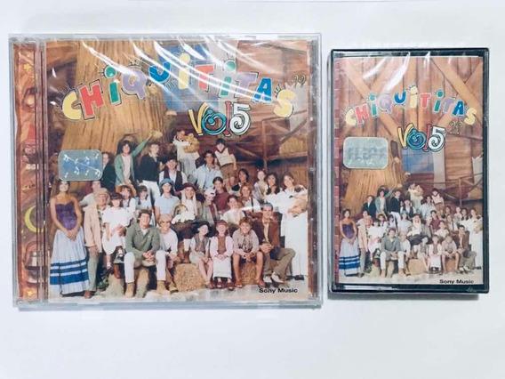 Chiquititas Vol 5 Cd + Cassette Nuevos Sellados