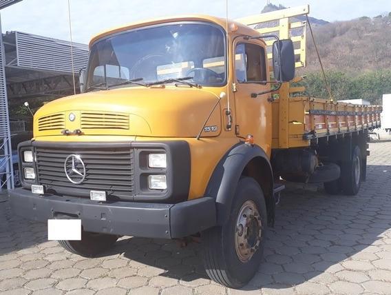 Mercedes-benz Mb 1513, Amarelo, 1976, Freio A Ar, Turbinado