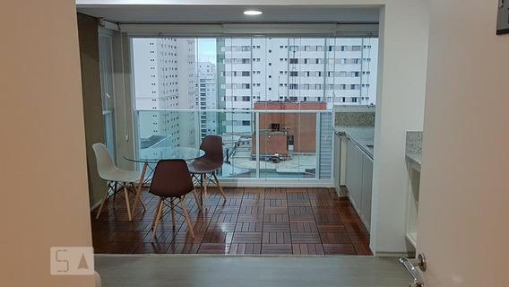 Apartamento Para Aluguel - Brooklin, 1 Quarto, 41 - 893102576