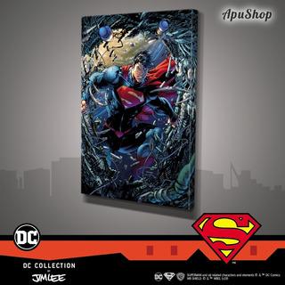 Cuadros Canvas 75x50 Dc Comics Oficial Jim Lee Superman
