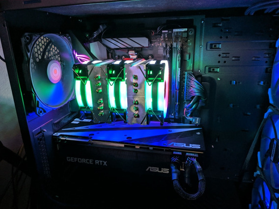 Pc Gamer Rtx 2080 16gb Ddr4 + 2x Ssd 120 + Nvme M.2 1tb Ssd