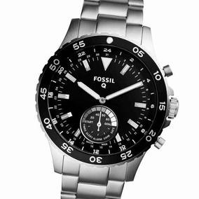 Reloj Fossil Hombre Plata Ftw1126