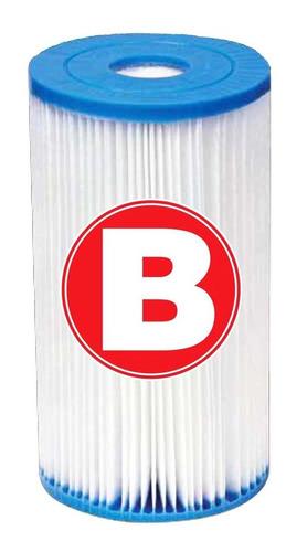 Imagen 1 de 2 de Filtro De Repuesto Para Bomba Piscina Intex Tipo B - El Rey