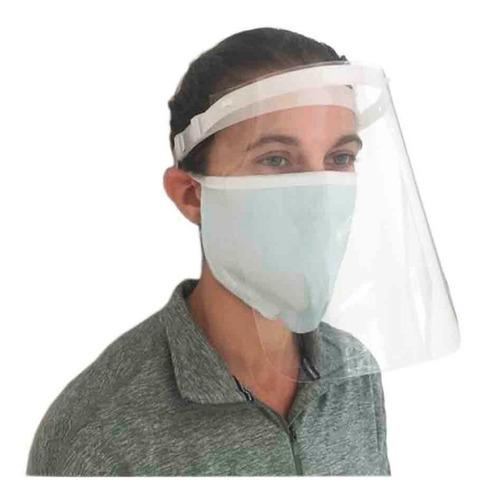 Mascara Protectora Facial + 10 Barbijos Tapaboca Mascarilla