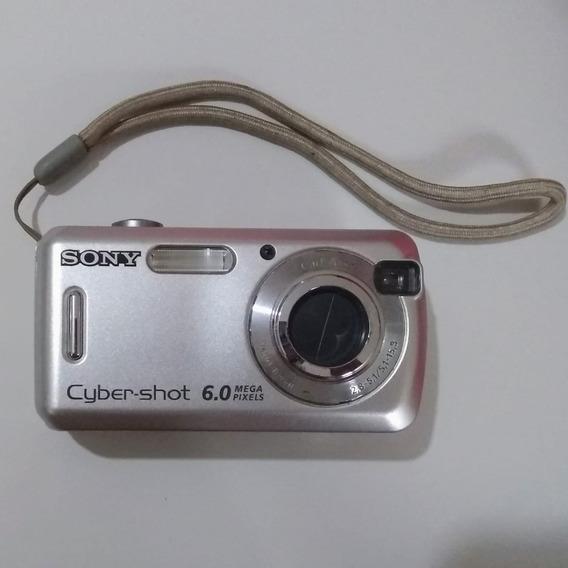 Câmera Digital Sony Cybershot Dsc S600 6.0 Mpx Com Defeito