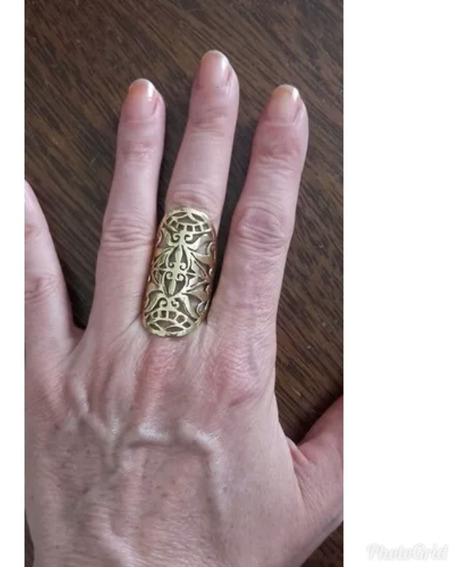 Anel Indiano Boho Bronze Importados
