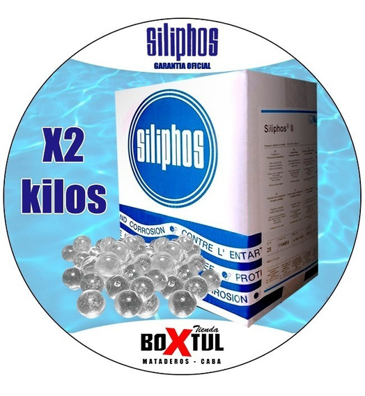 Sal Polisfofato Antisarro Para Filtro De Agua Siliphos 2 Kg