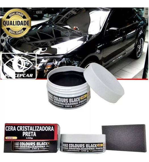 Cera Cristalizadora Automotiva Colorida Wax Color A Melhor